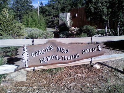 Demo Garden Sign